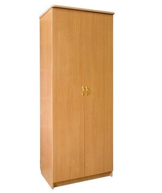 Шкаф распашной 2х створчатый с полками шк-15 (б).