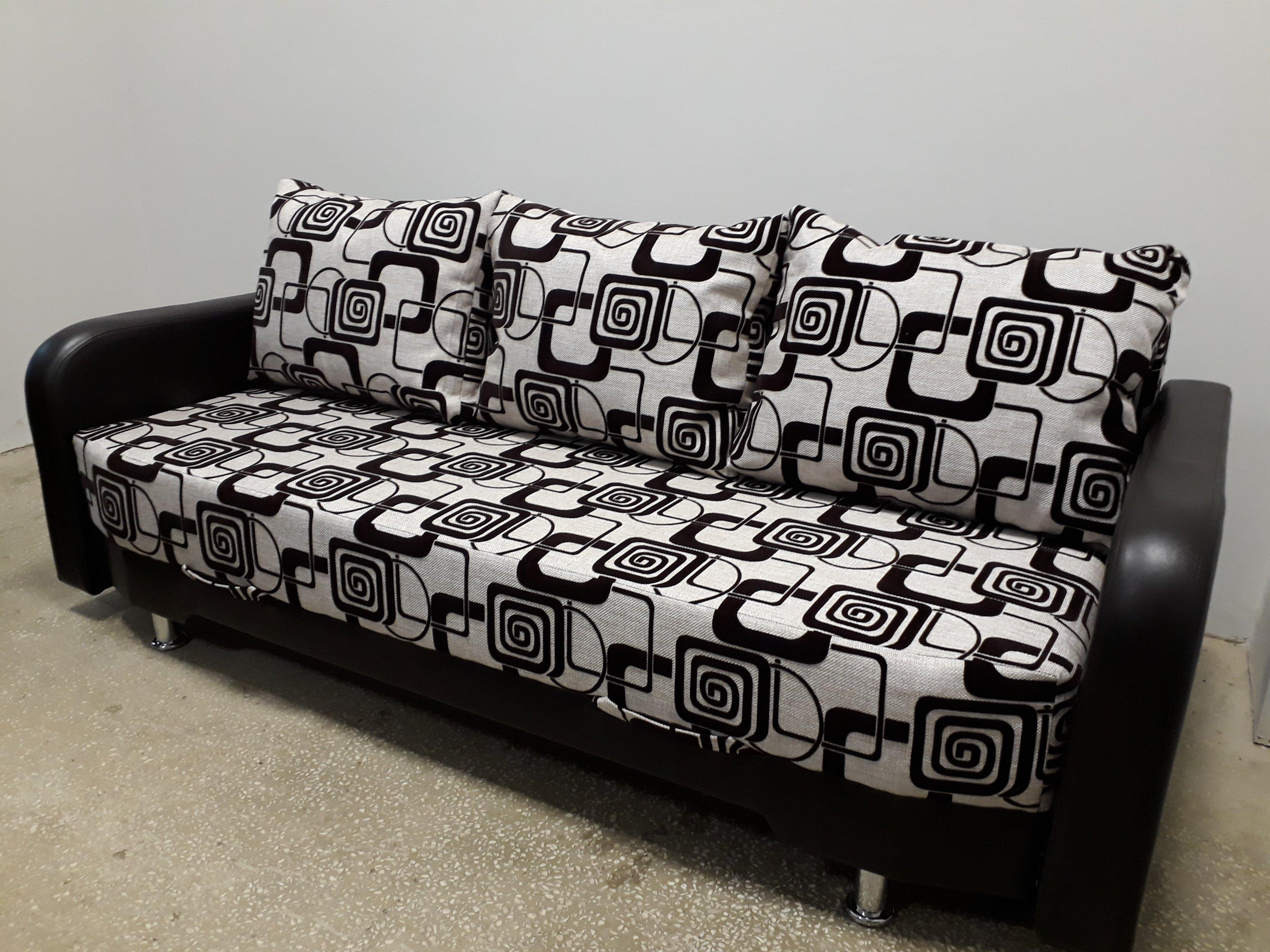 диван прямой мягко