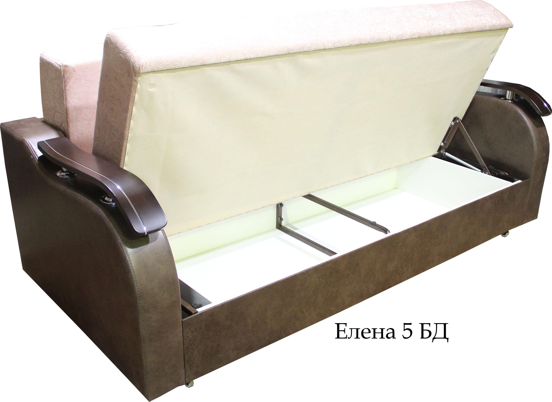 елена 5 прямой диван