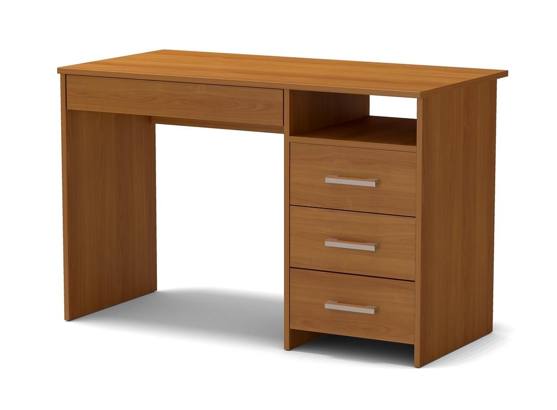 стол письменный с 4 ящиками вишня