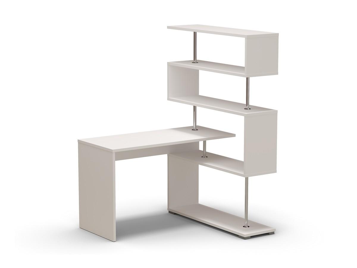 стол письменный белый