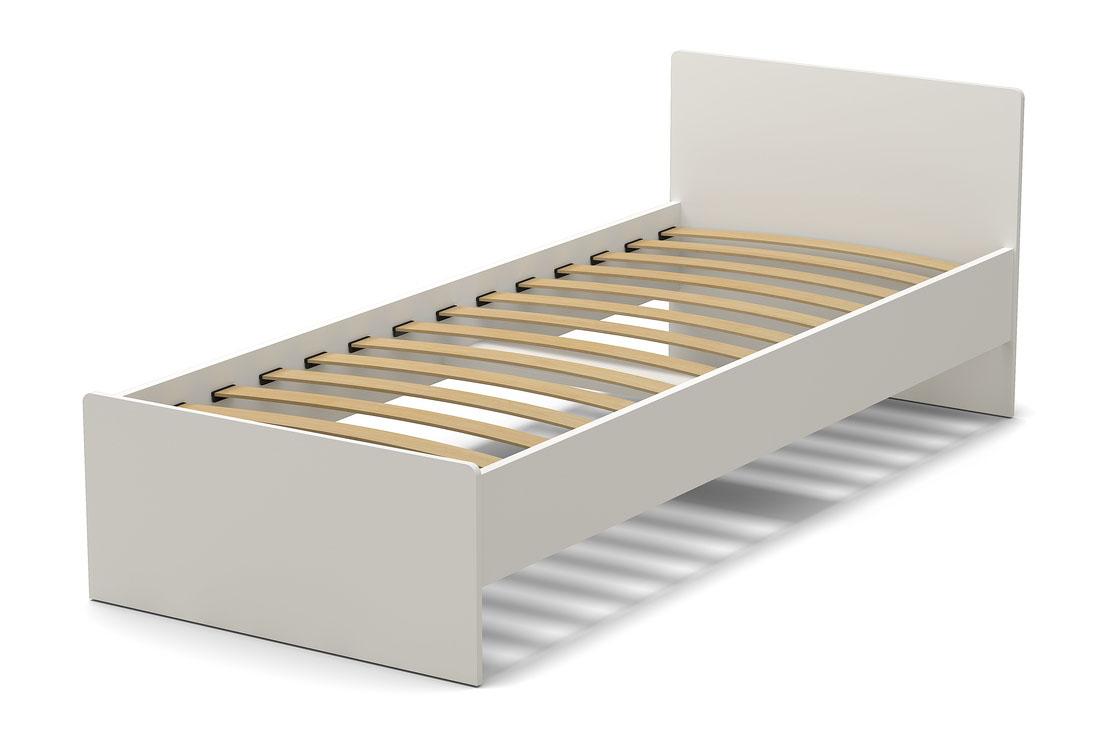 кровать 800 белая