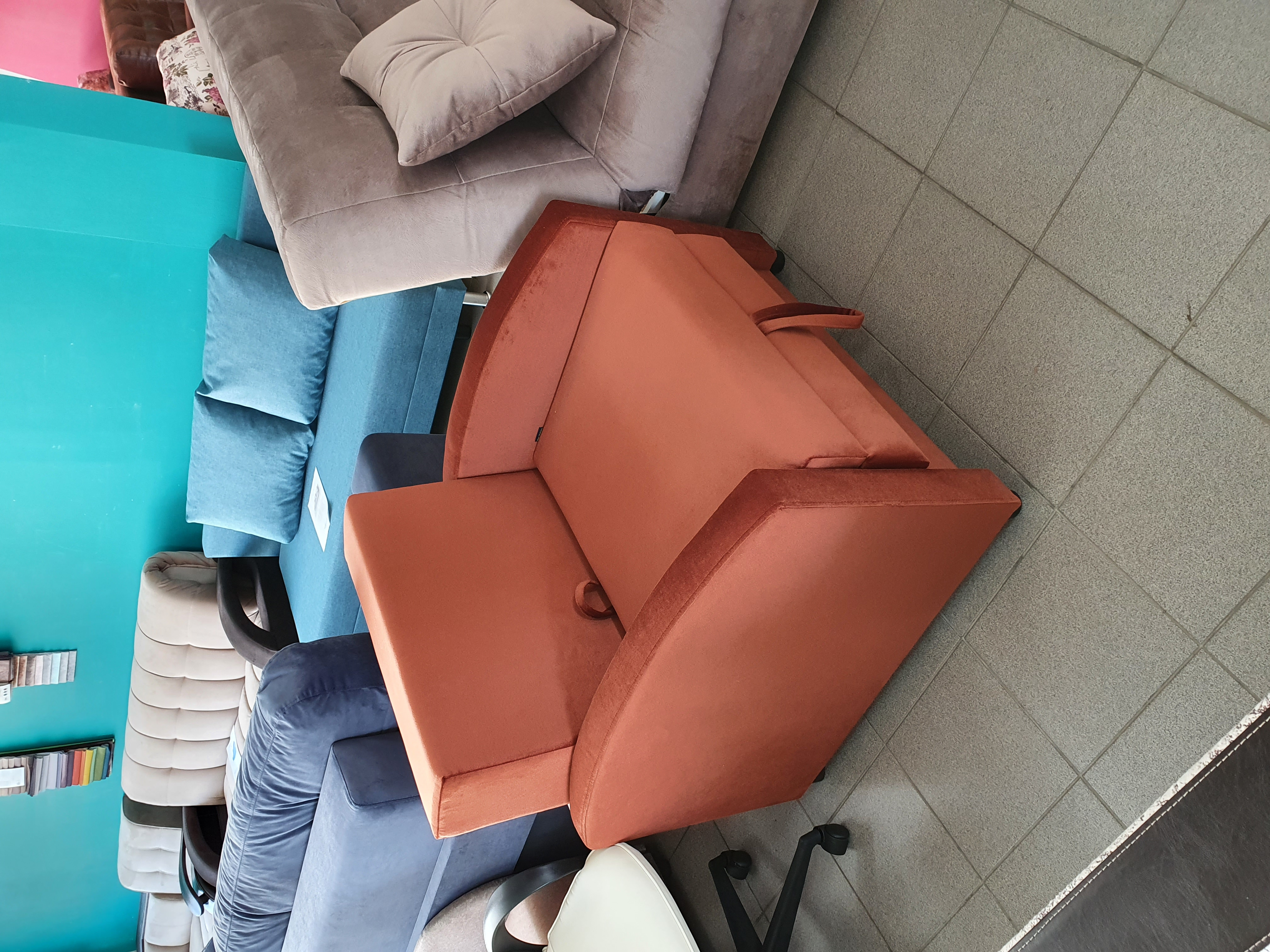 кресло кровать уют 8мд екатеринбург, красное