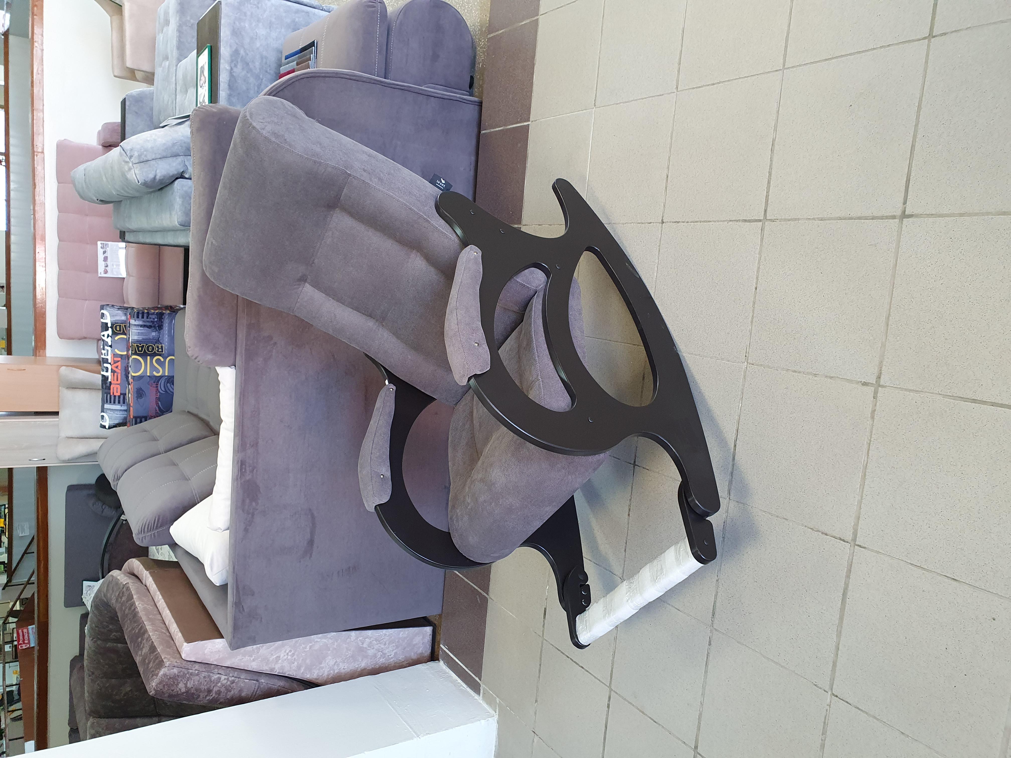 кресло качалка с подножкой Екатеринбург