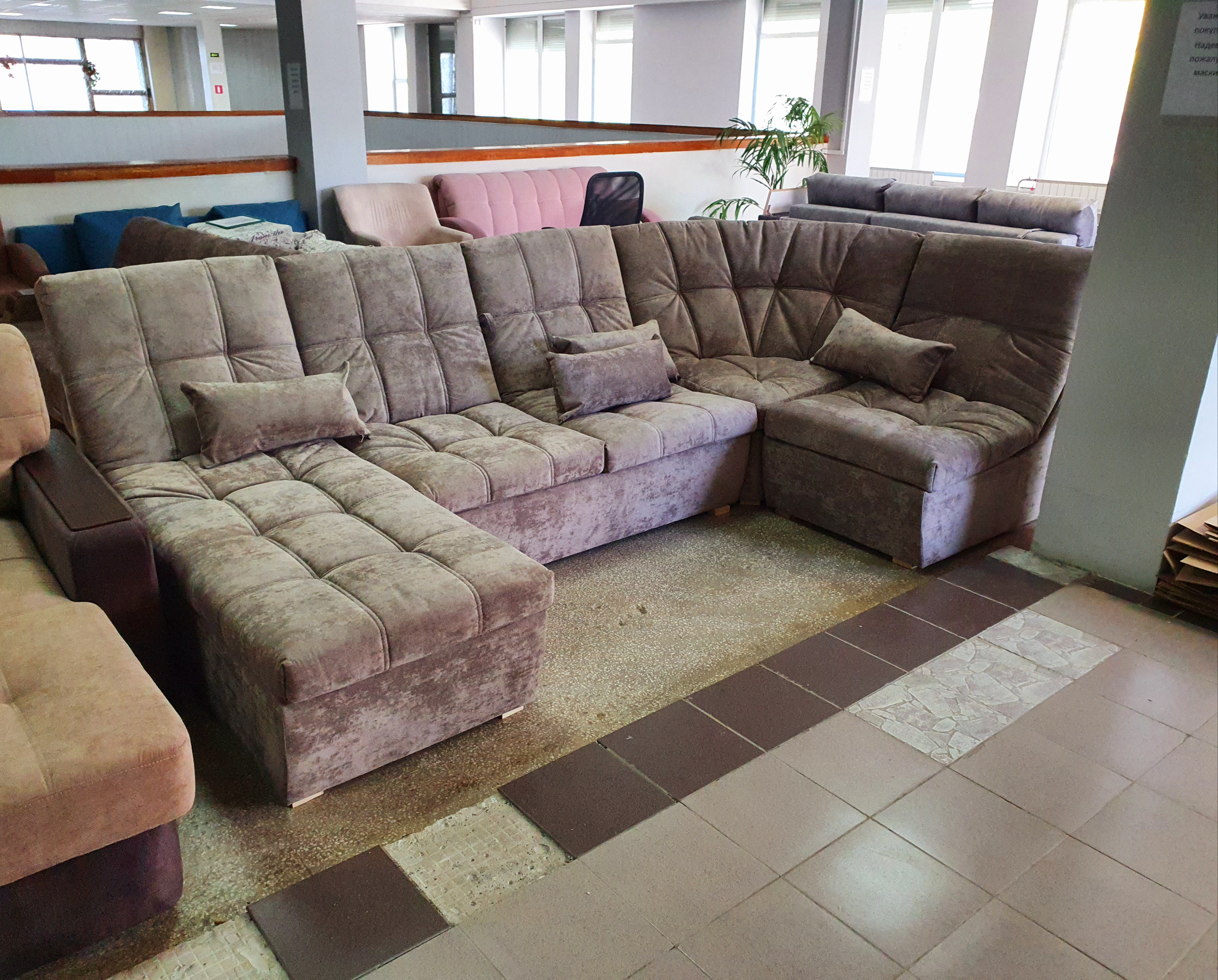 диван модульный п образный софия 2 Екатеринбург
