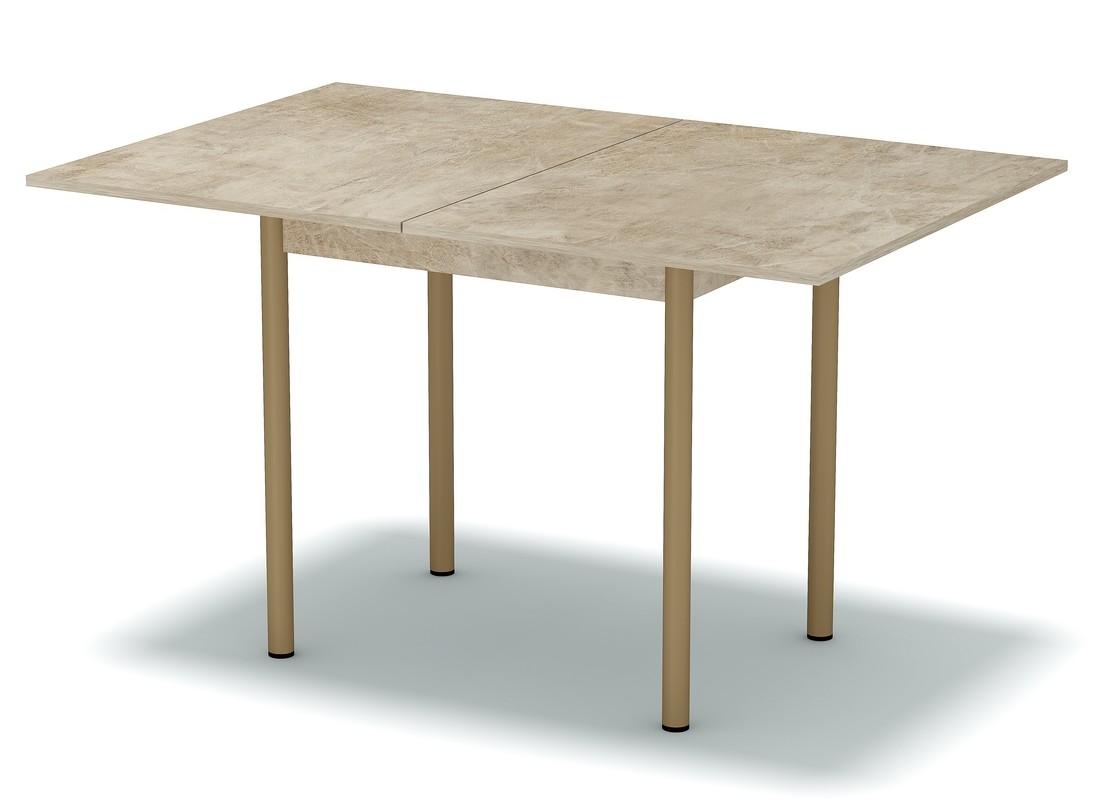 стол обеденный раскладной светлый камень