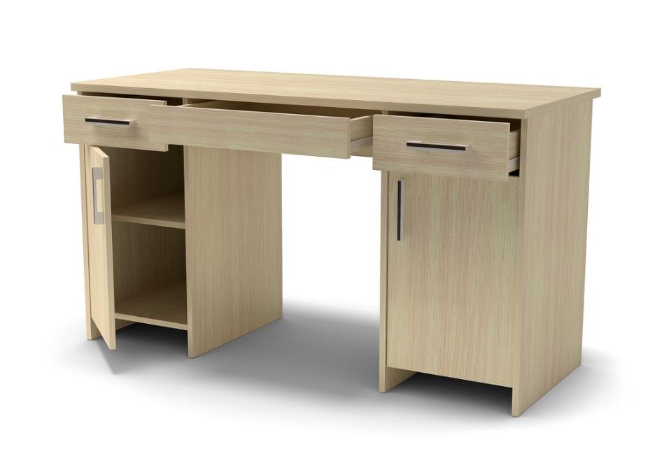 дуб млечный стол письменный