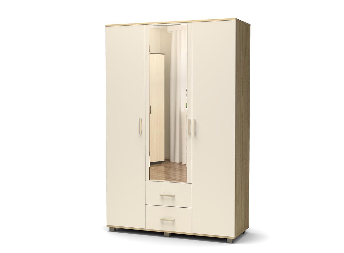 шкаф белый  дуб