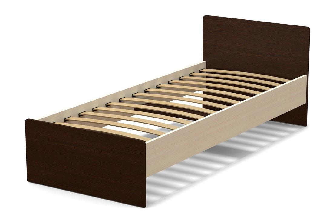 кровать 800 венге дуб млечный