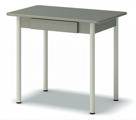 стол обеденный с ящиком винтаж
