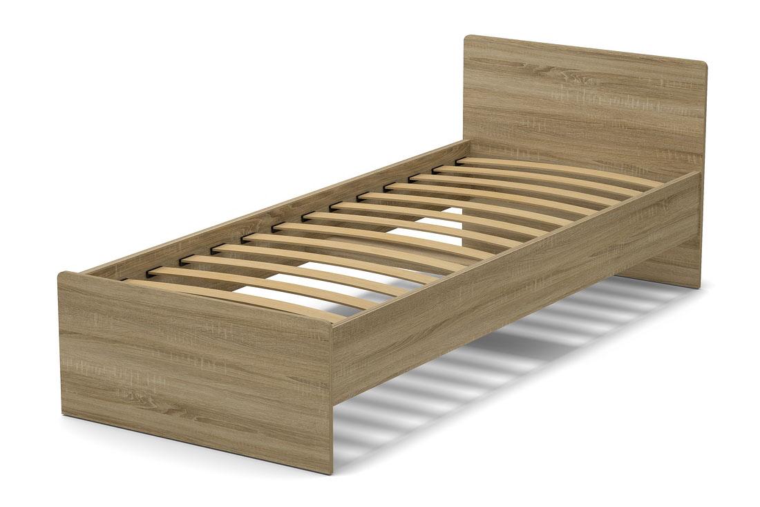кровать 800 мм гайвамебель дуб сонома