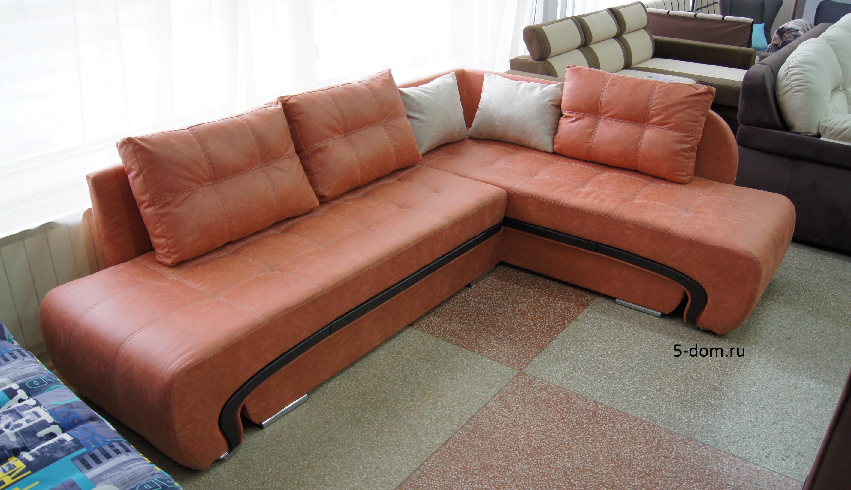 большой угловой диван трансформер  дуэт 2