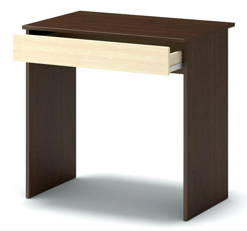 стол письменный маленький венге. дуб млечный