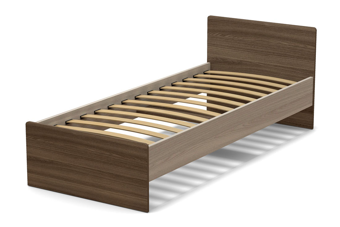 кровать 800 гайвамебель ясень шим св  тем