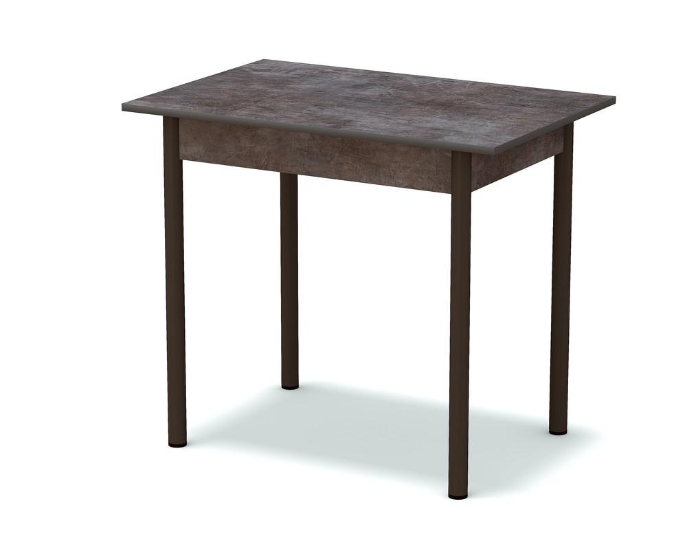 стол обеденный темный камень