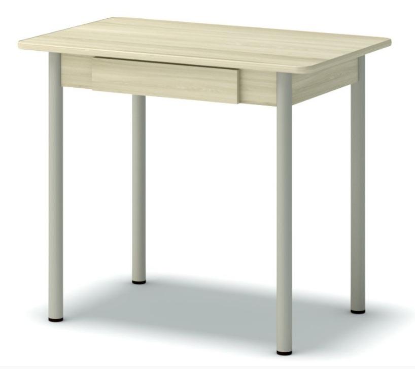 стол обеденный с ящиком ясень шимо св