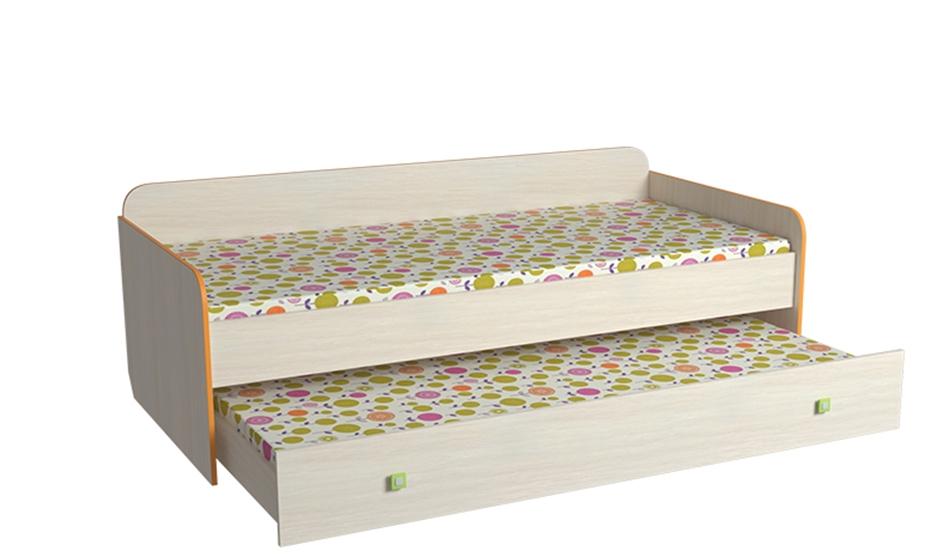 кровать низкая двухярусная