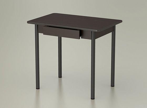 стол обеденный с ящиком венге