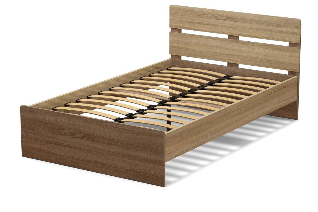 кровать 1200 дуб сонома и винтаж