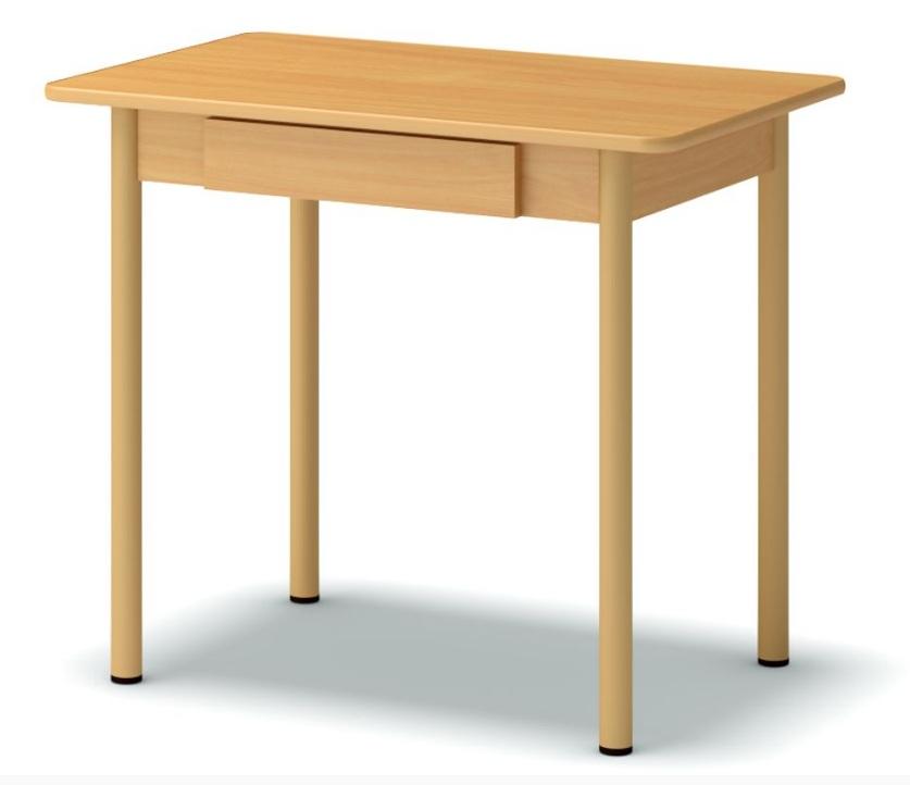 стол обеденный с ящиком бук