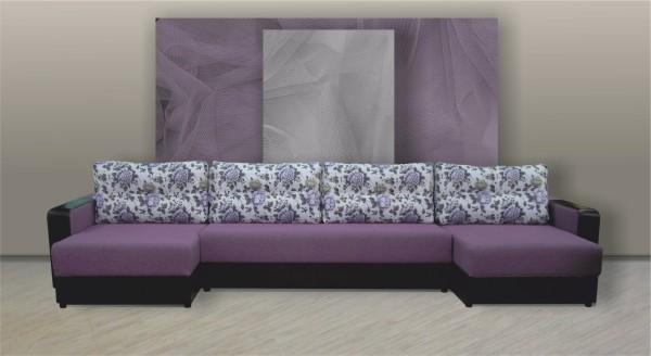 диван п образный большой